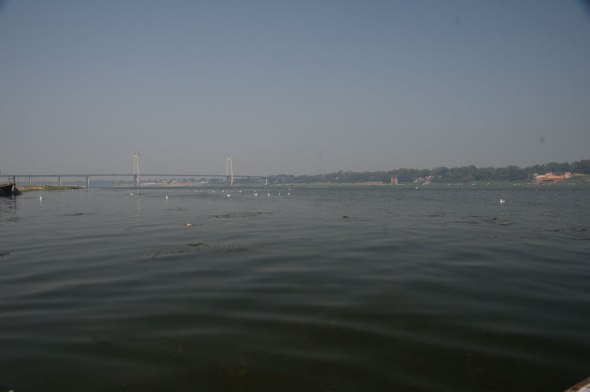Boating in the Yamuna 2