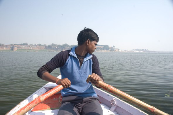 Boating in the Yamuna 3