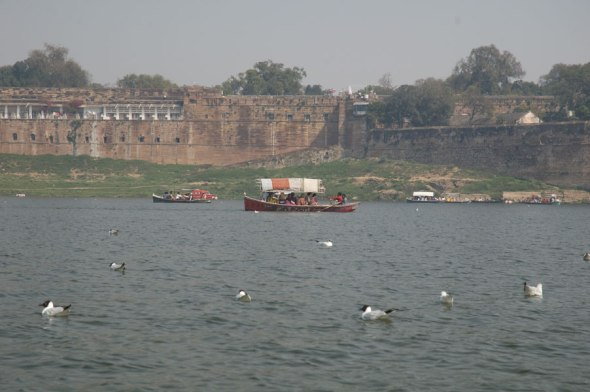 Boating in the Yamuna 6
