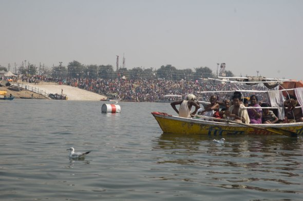 Boating in the Yamuna 8
