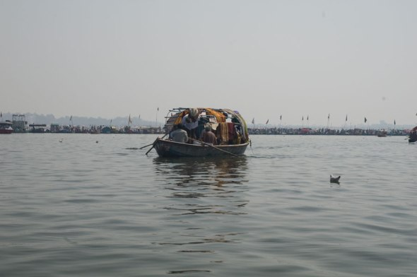 Boating in the Yamuna 7