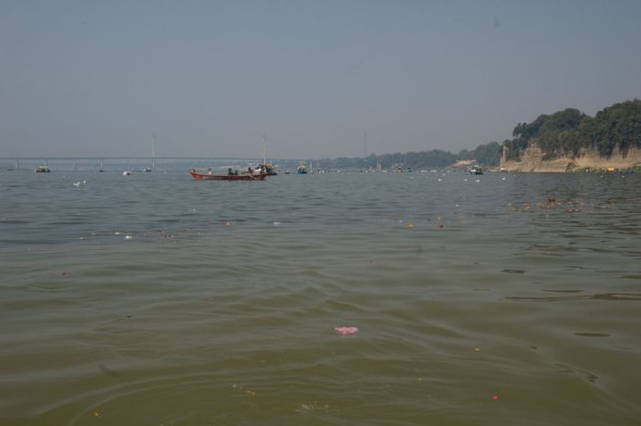 Boating in the Yamuna 9
