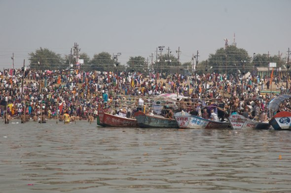 Boat Ride in the Yamuna 10