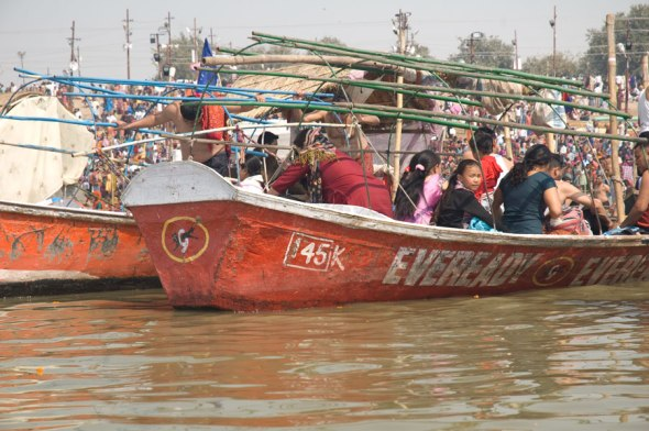 Boating in the Yamuna 11