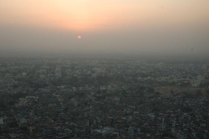Sunset in Jaipur