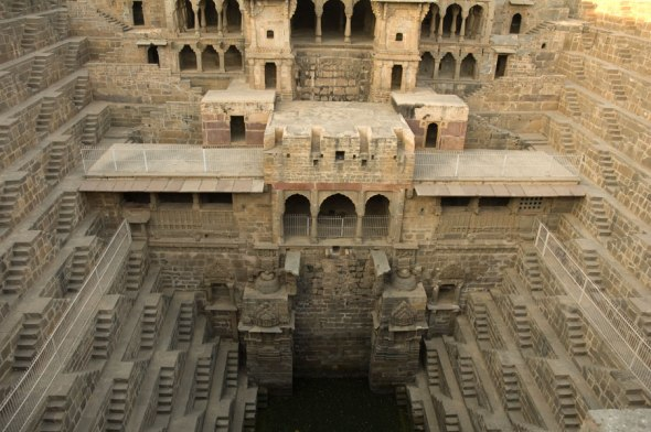 The grand step well!